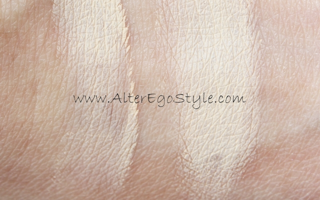 swatch mac paint pot soft ochre