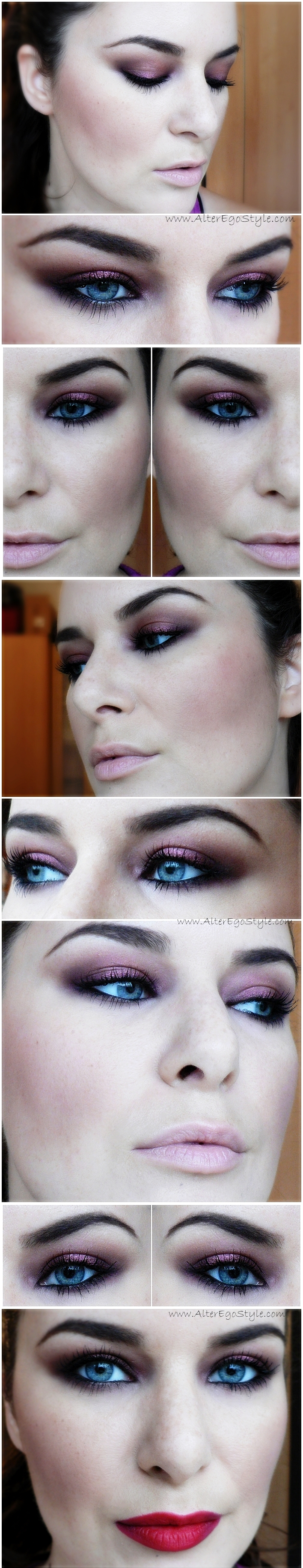 makeup-fall-2013-burgundy-eyes
