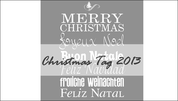 Merry Christmas in Different Languages Gray