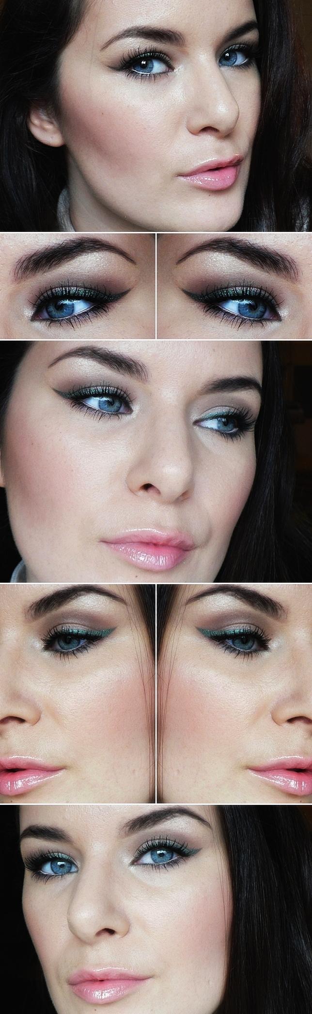 green-eyeliner-makeup-fall2013