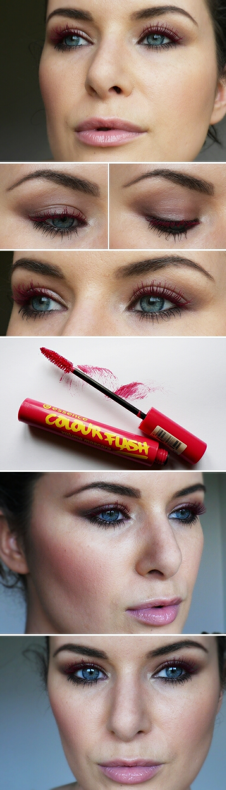 red-mascara-essence-redmascaramakeuplook