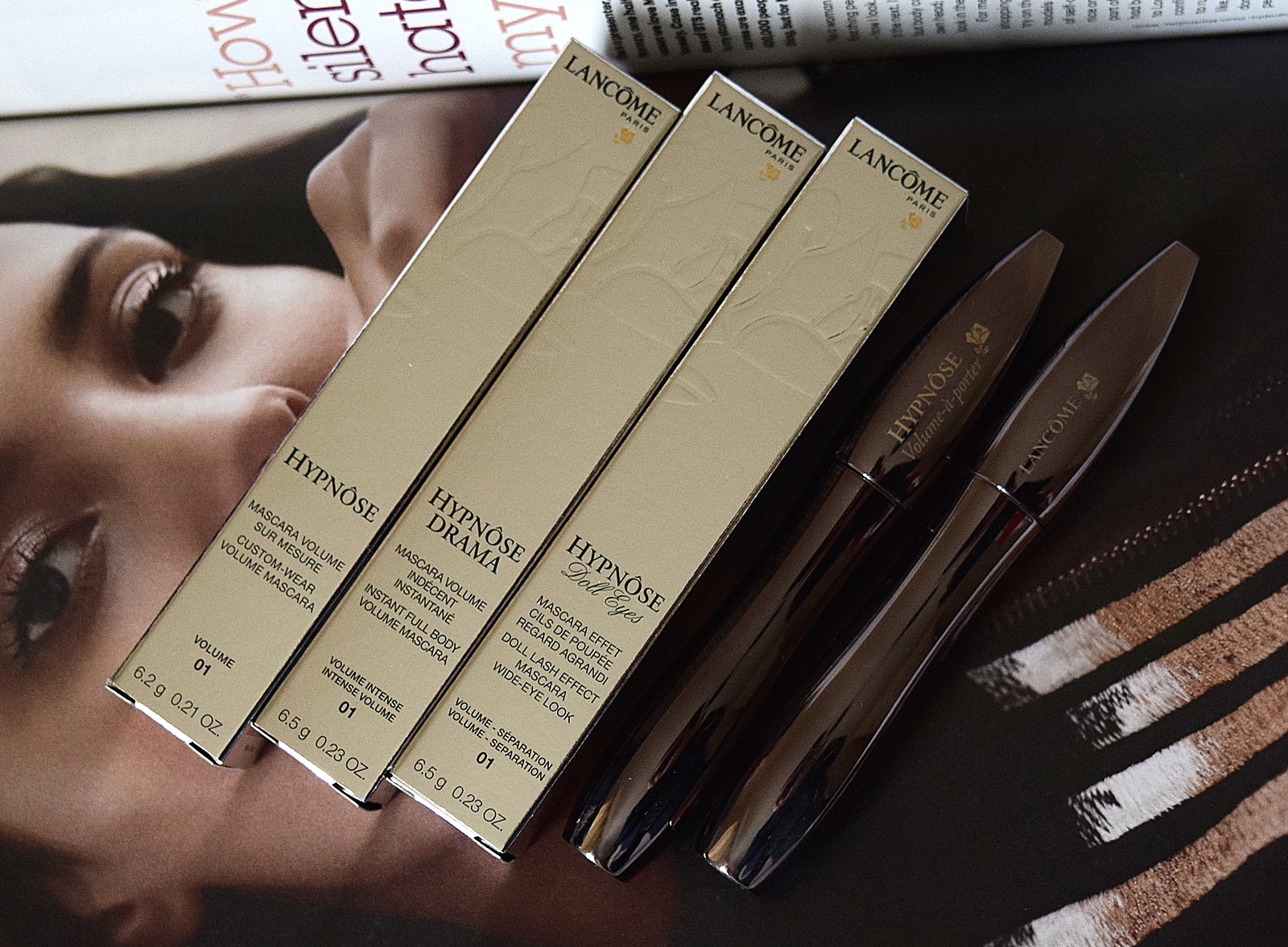 Hypnose Worms testing lancome hypnose mascaras alter ego style